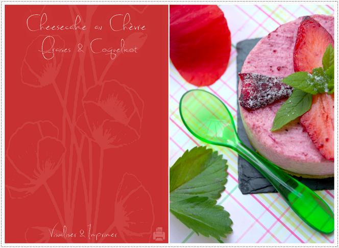 Cheesecake - Visualiser & Imprimer la recette ...