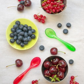 Clafoutis aux Fruits Rouges, Huile d'Olive & Thym Sauvage