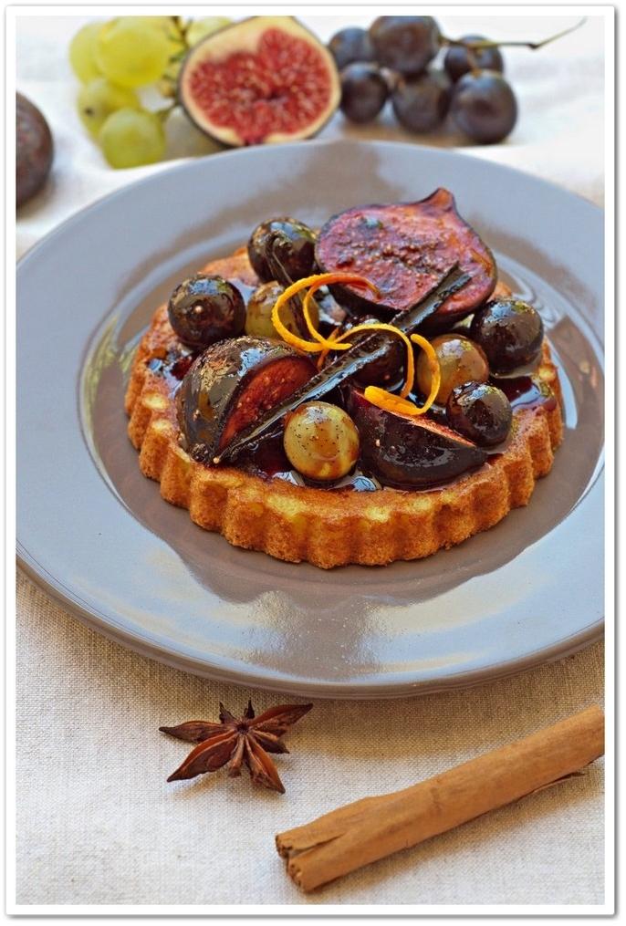 Moelleux-au-Patisson-Raisins-Figues-poêlès-au-Banyuls