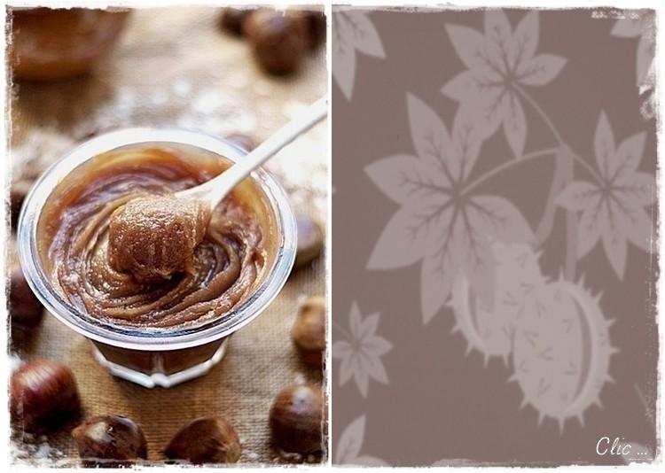 Crème de Marrons à la Vanille ... Visualiser & Imprimier la recette