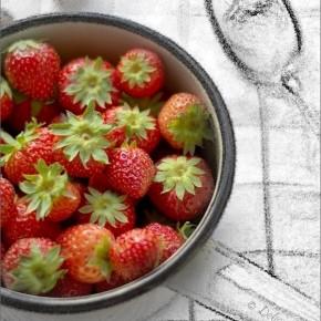 Tarte Moelleuse (Huile d'Olive & Thym), Lemon Curd Léger & Fruits Rouges