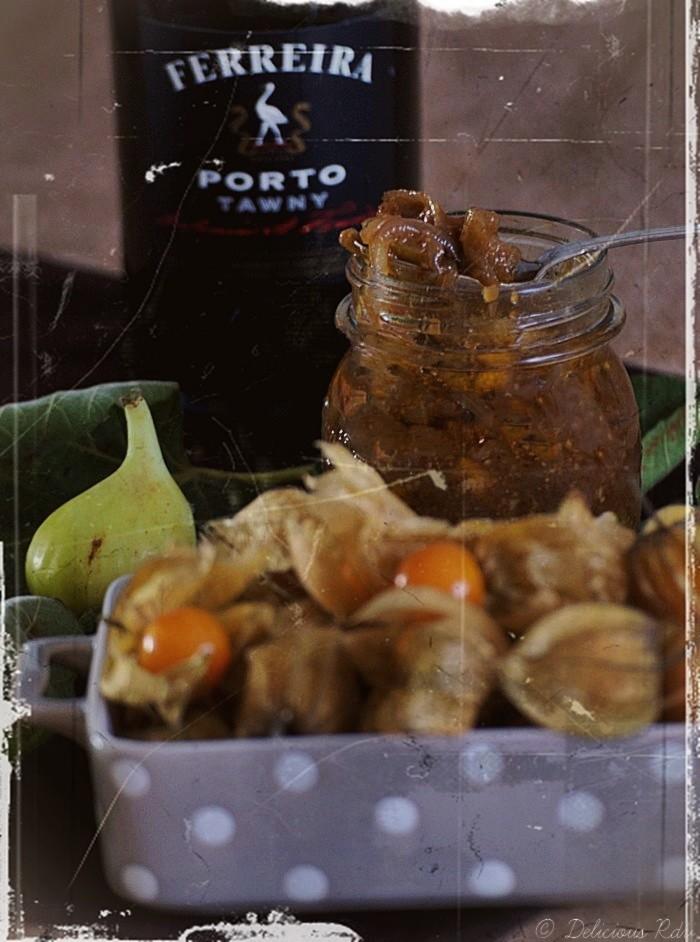 Chutney Figues Physalis Porto