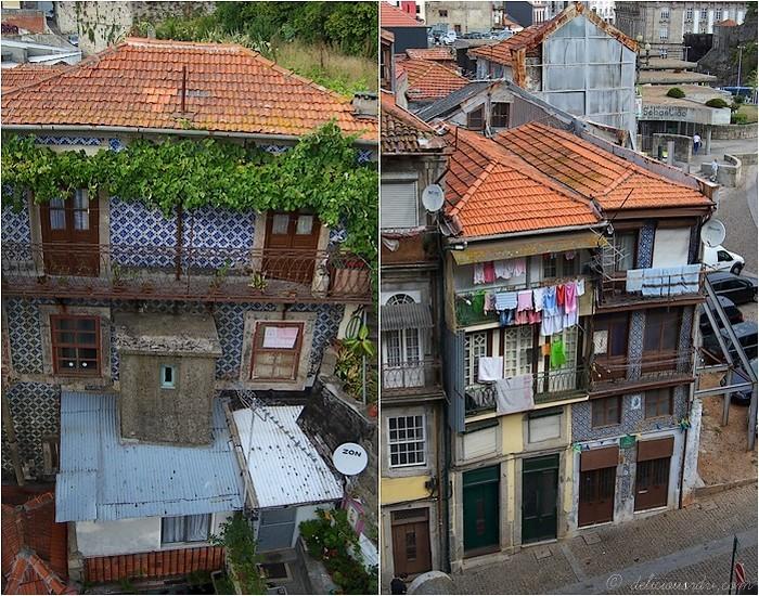 Maisons colorées Porto