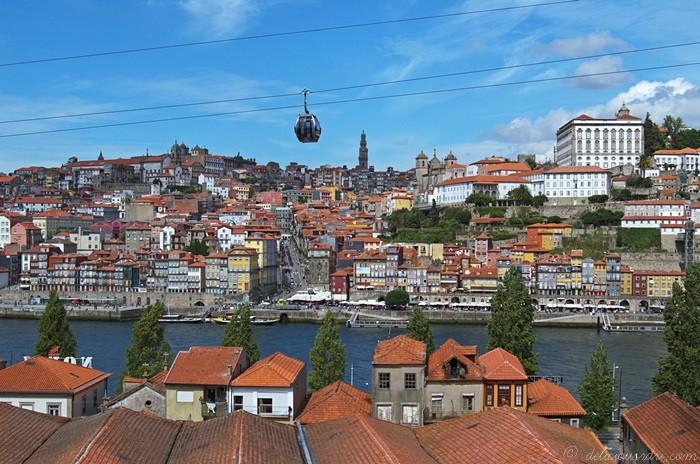 Vue Porto de Gaia