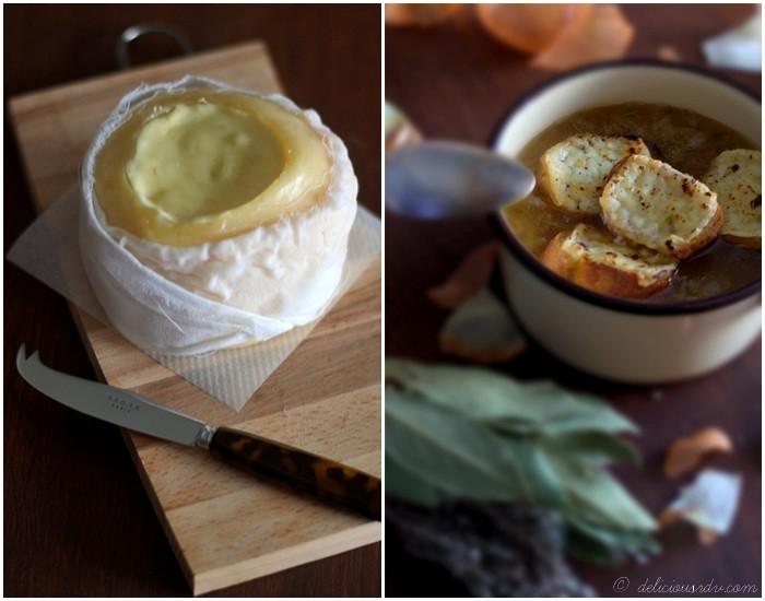 Soupe à l'Oignon et Queijo