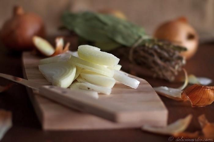 Soupe à l'oignon Ingrédients