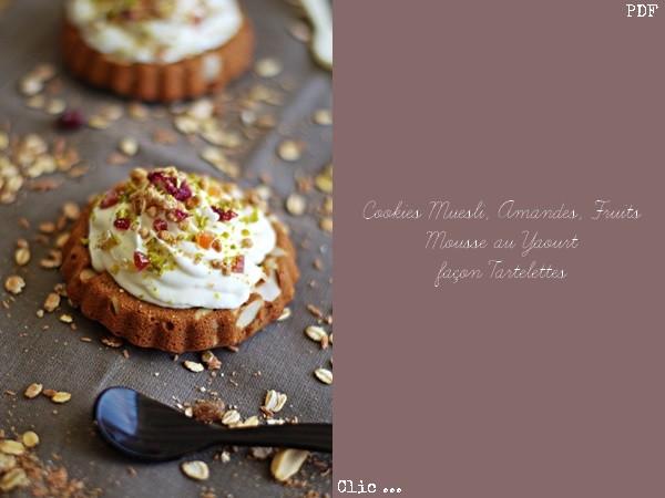 Cookies façon Tartelettes ... Recette PDF