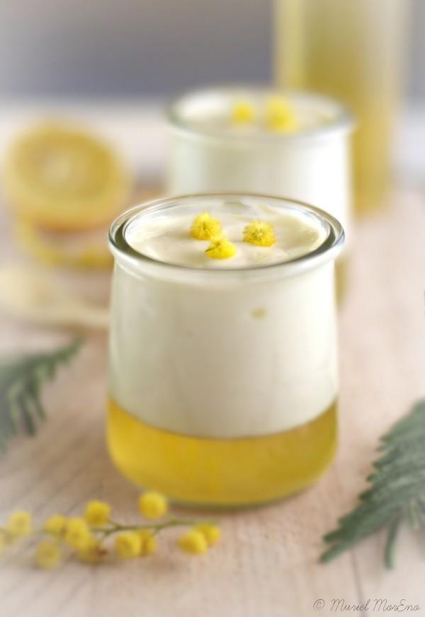 Yaourt Citron Gelée de Mimosas 1