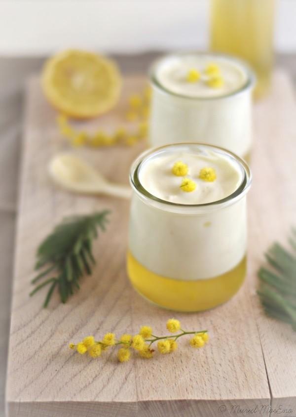 Yaourt Citron Gelée de Mimosas