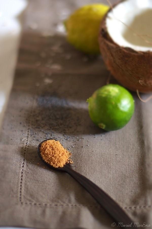 Ingrédients Moelleux Citron Coco Pavot