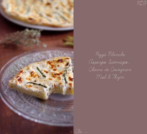 Pizza aux Asperges Sauvages Chèvre Cucugnan Miel Thym PDF