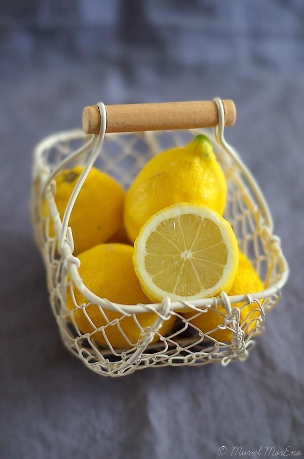 Panier Citron Bio