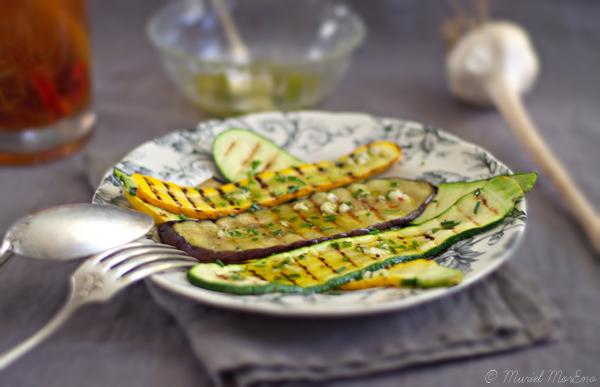 Plat Légumes d'Eté Grillés Paysage