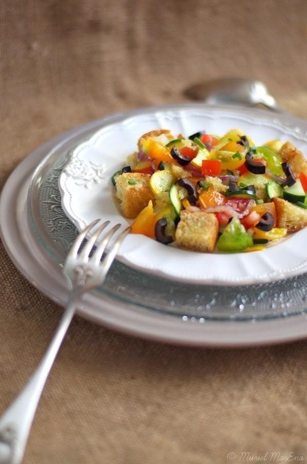 Salade façon Panzanella 3
