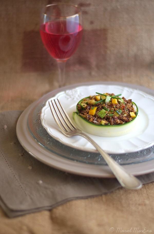 Taboulé de Quinoa aux Courgettes 1