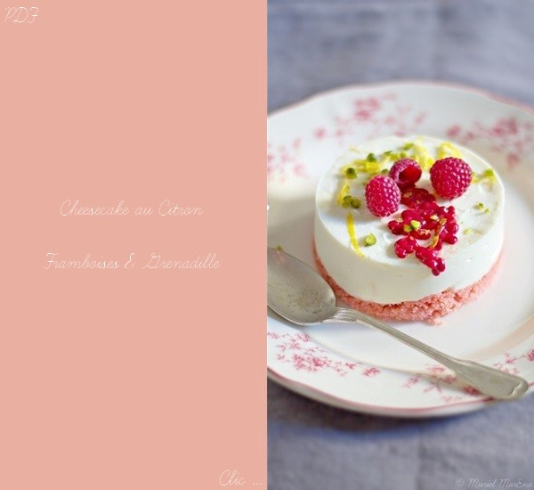 Cheesecake CFG Recette PDF